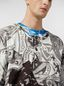 Marni Short-sleeved sweatshirt in cotton jersey Modular print Man - 4