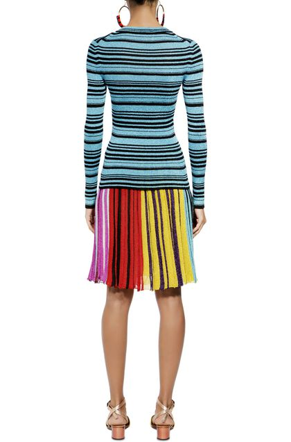MISSONI Sweater Turquoise Woman - Front