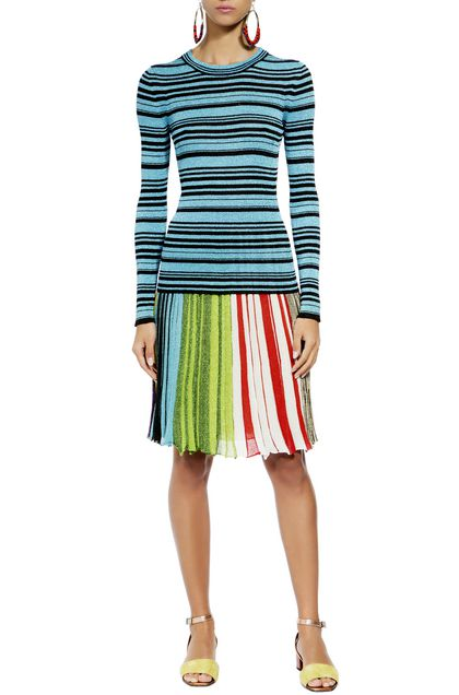 MISSONI Sweater Turquoise Woman - Back