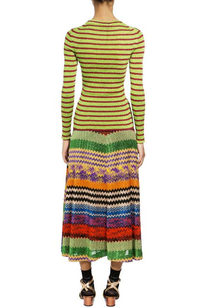 MISSONI Sweater Acid green Woman - Front