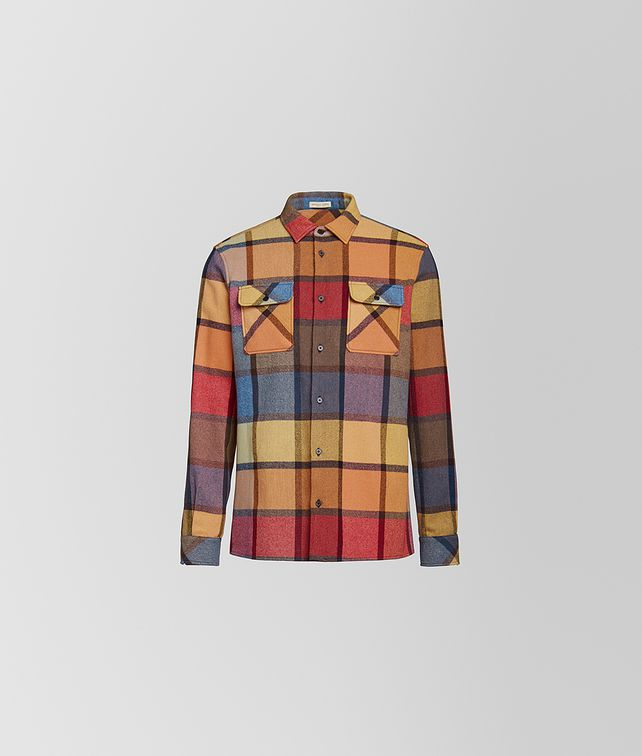 BOTTEGA VENETA SHIRT IN WOOL Shirt Man fp