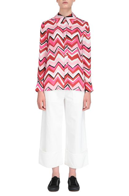 M MISSONI Shirt Fuchsia Woman - Back