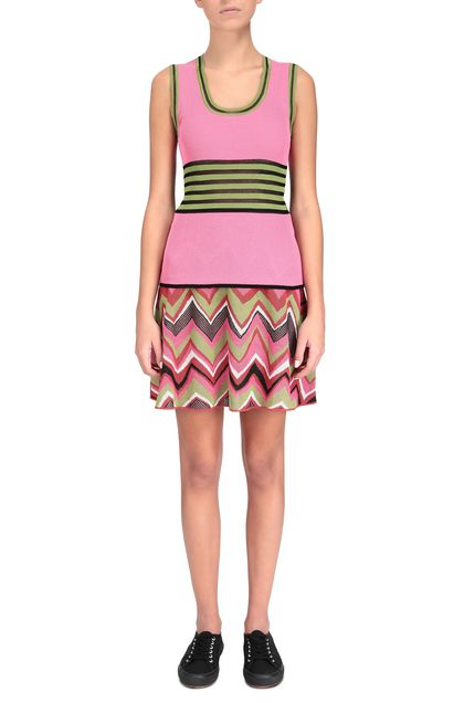 M MISSONI Top Fuchsia Woman - Back