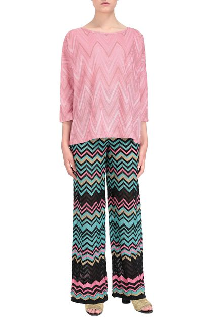 M MISSONI Blouse Pink Woman - Back