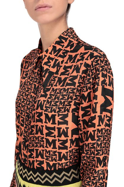 M MISSONI Shirt Rust Woman - Front