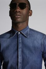 DSQUARED2 Denim Shirt Shirt Man