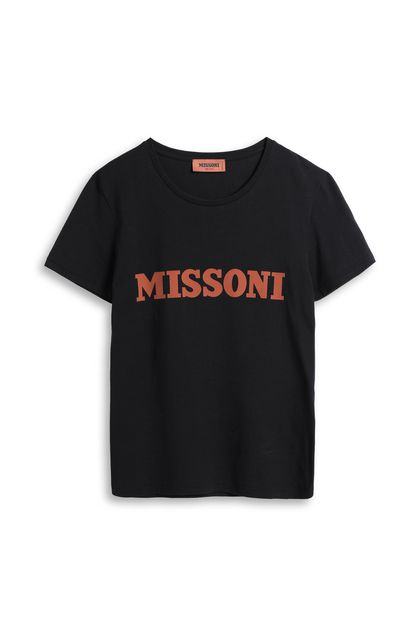 MISSONI T-shirt Black Woman - Back