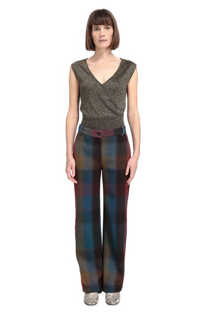 MISSONI Vest Military green Woman - Front