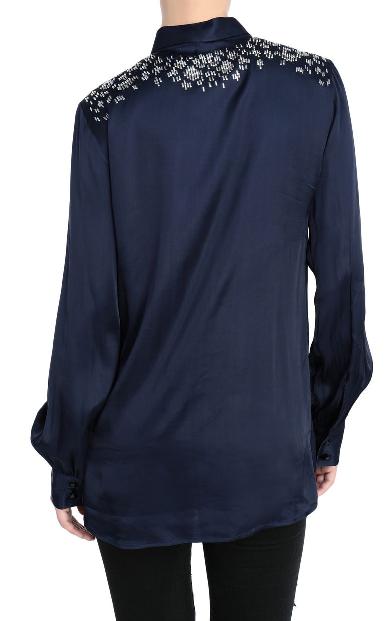 JUST CAVALLI Shirt with stud details Long sleeve shirt Woman r