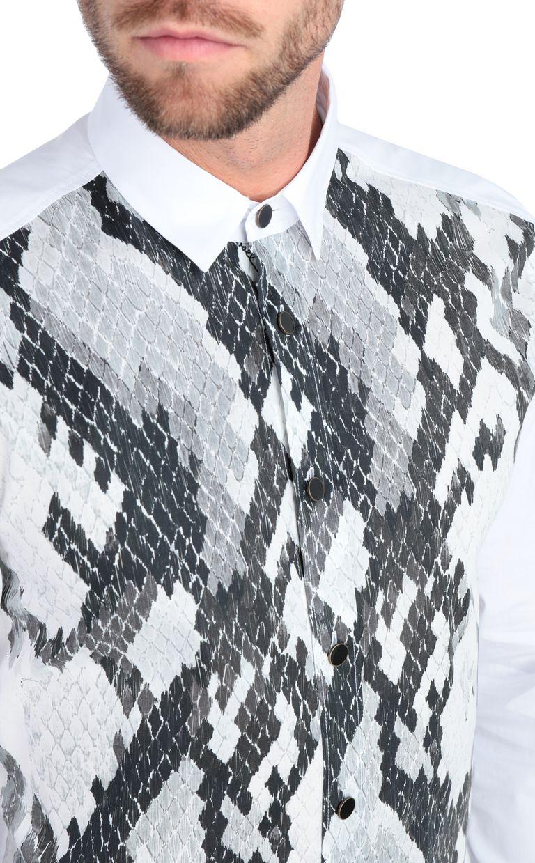 JUST CAVALLI Python-print shirt Long sleeve shirt [*** pickupInStoreShippingNotGuaranteed_info ***] e