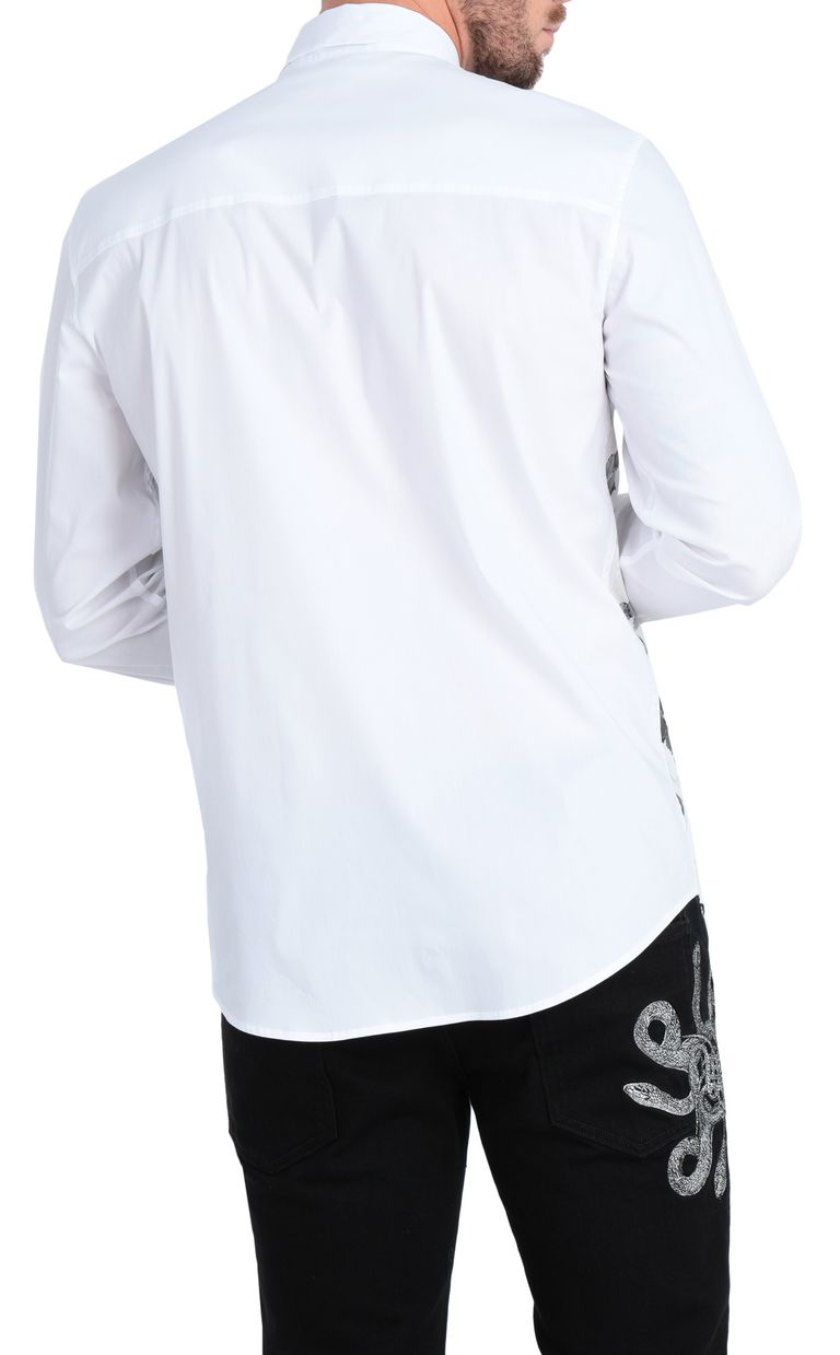 JUST CAVALLI Python-print shirt Long sleeve shirt [*** pickupInStoreShippingNotGuaranteed_info ***] r