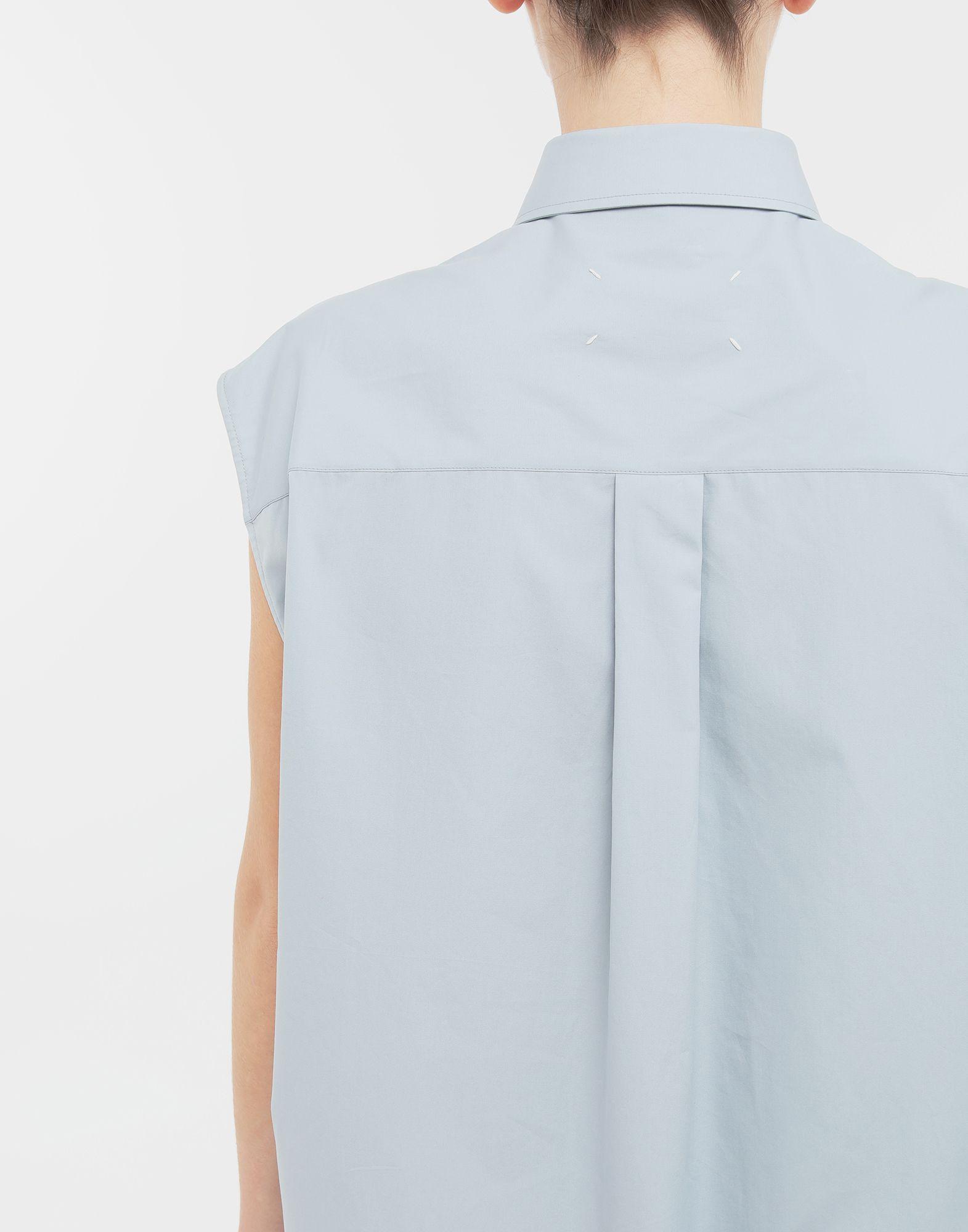 MAISON MARGIELA Sleeveless long cotton shirt Sleeveless shirt Woman b