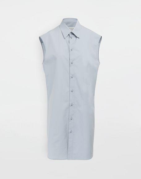 MAISON MARGIELA Sleeveless long cotton shirt Sleeveless shirt Woman f