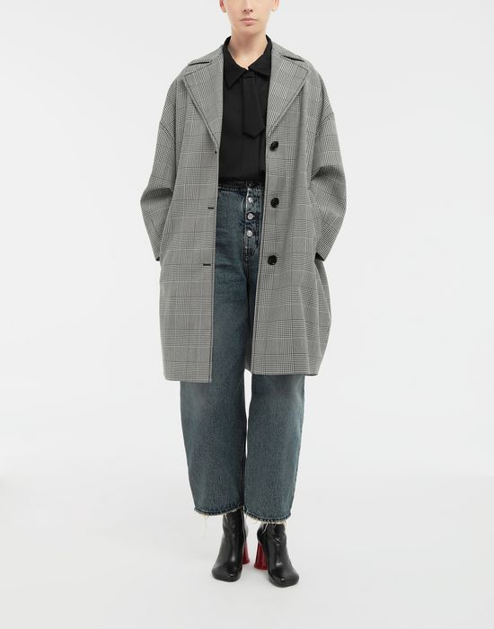 MM6 MAISON MARGIELA Oversized necktie shirt Long sleeve shirt [*** pickupInStoreShipping_info ***] d