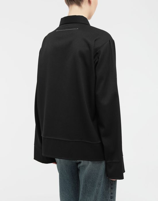 MM6 MAISON MARGIELA Oversized necktie shirt Long sleeve shirt [*** pickupInStoreShipping_info ***] e