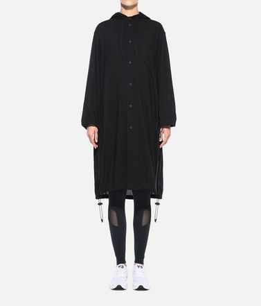 Y-3 Long sleeve shirt Woman Y-3 Hooded Long Shirt r