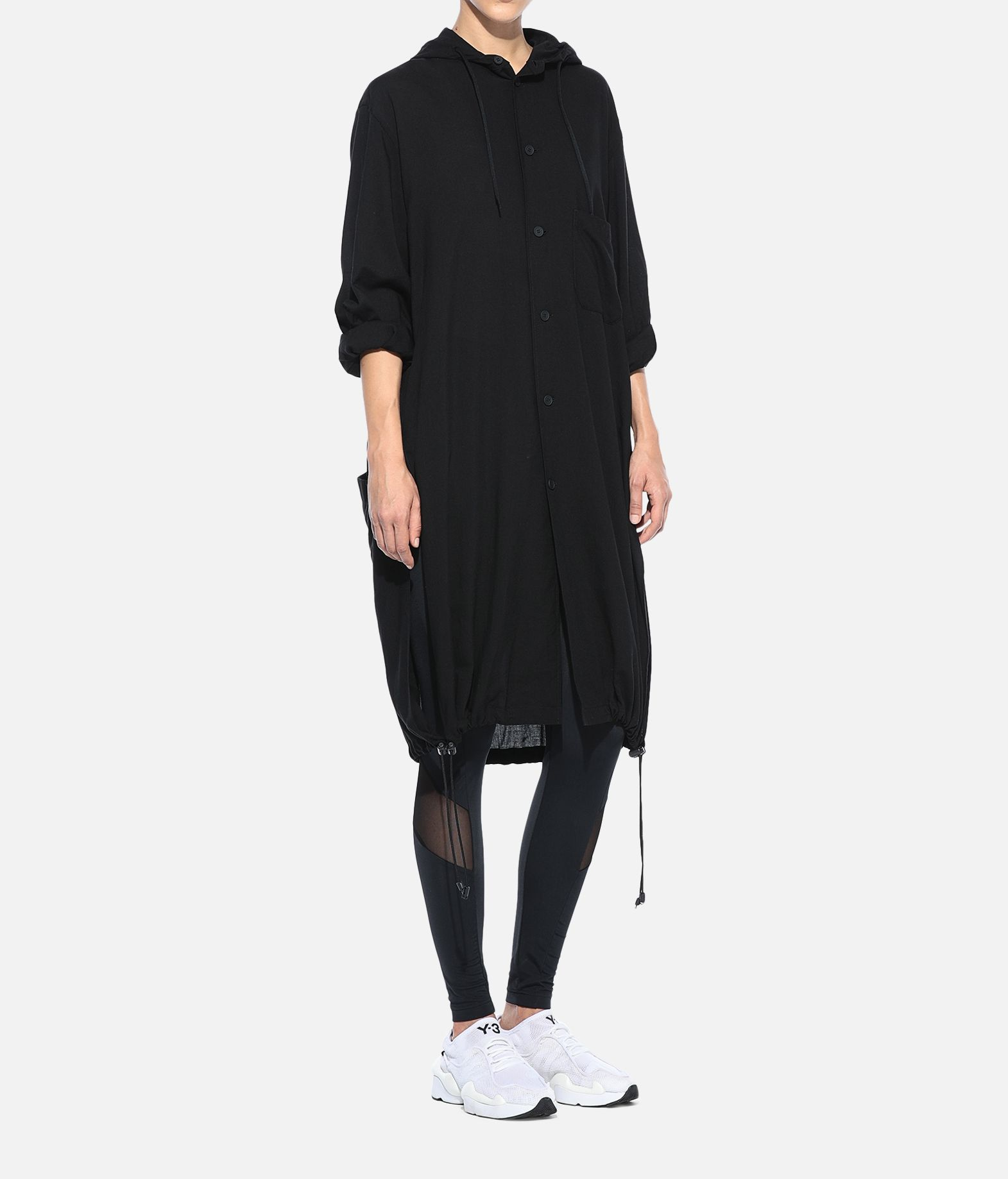 Y-3 Y-3 Hooded Long Shirt Long sleeve shirt Woman a