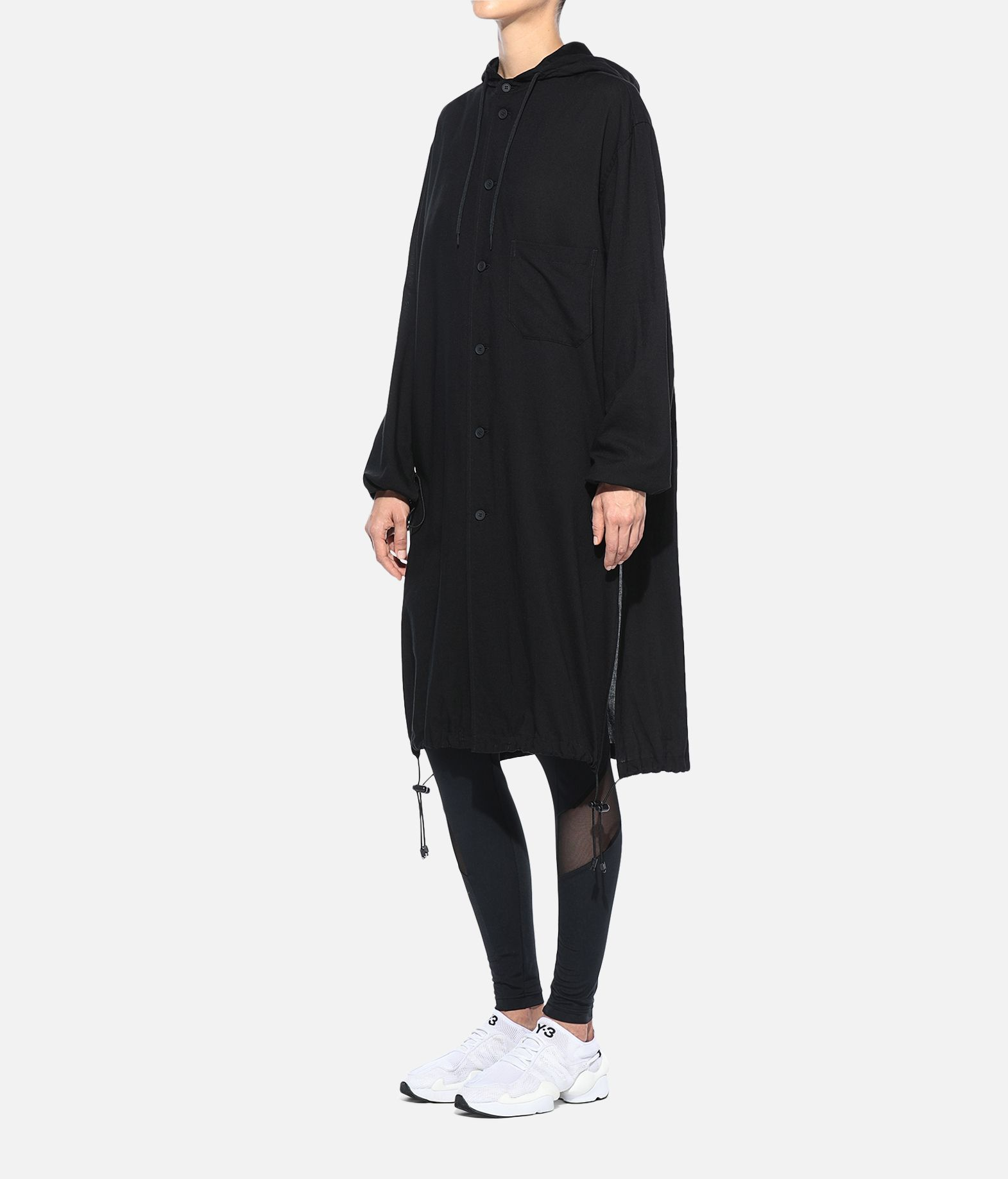 Y-3 Y-3 Hooded Long Shirt Long sleeve shirt Woman e