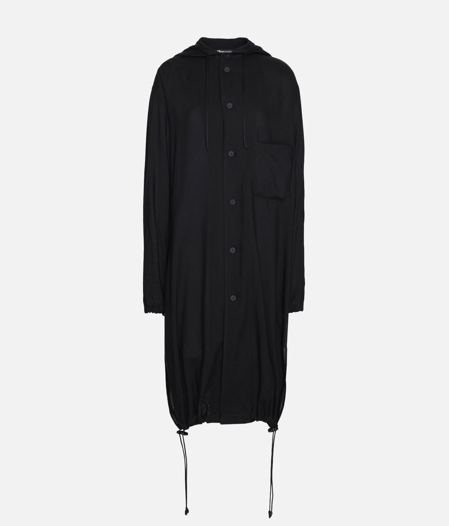 Y-3 Y-3 Hooded Long Shirt Long sleeve shirt Woman f