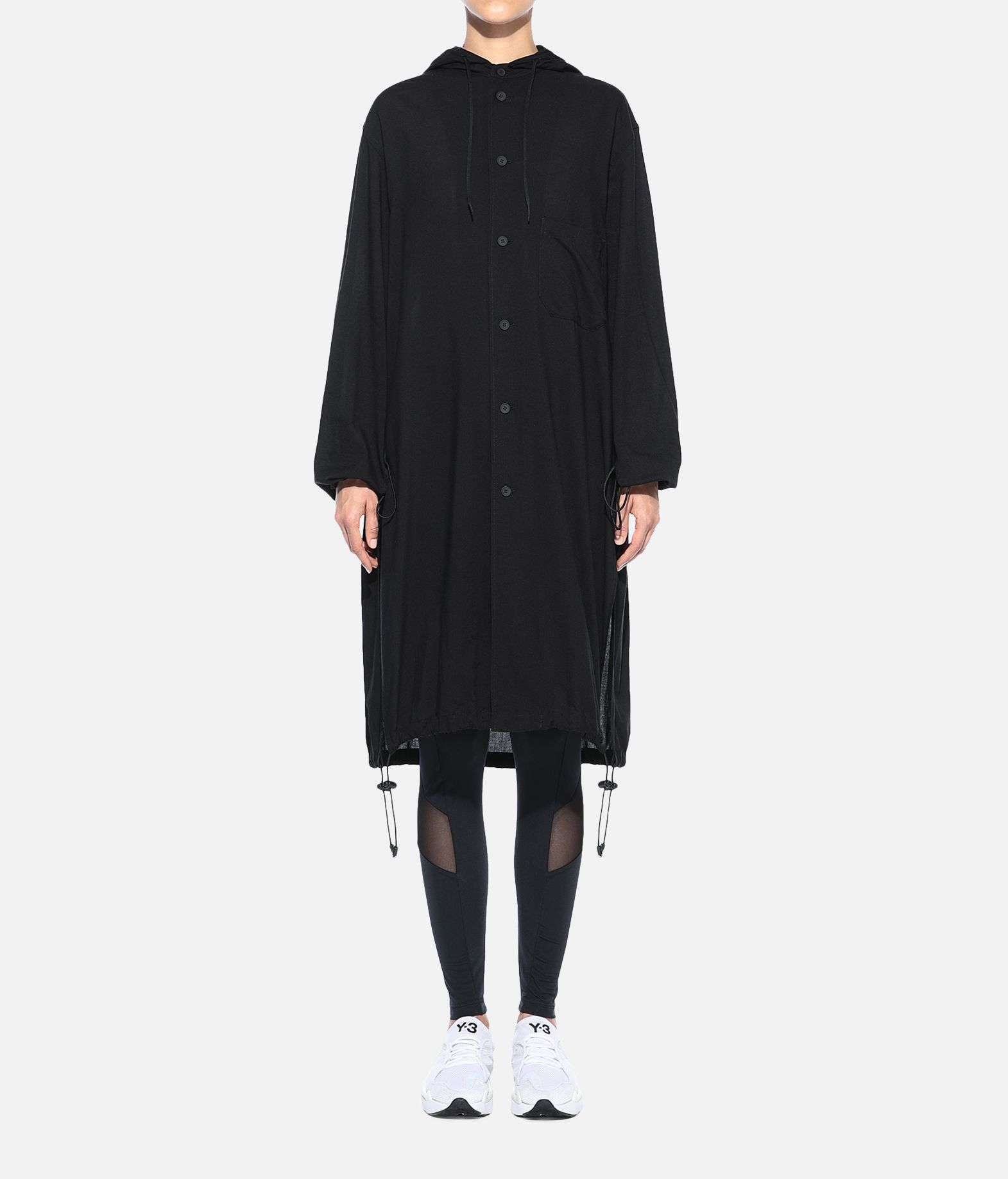Y-3 Y-3 Hooded Long Shirt Long sleeve shirt Woman r