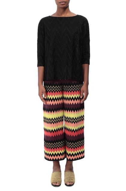 M MISSONI Blouse Black Woman - Back