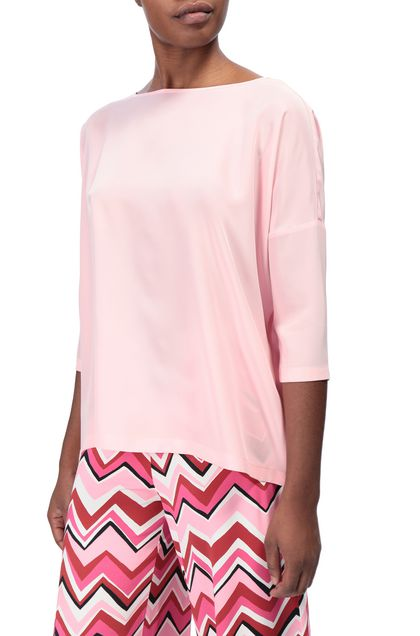 M MISSONI Blouse Pink Woman - Front