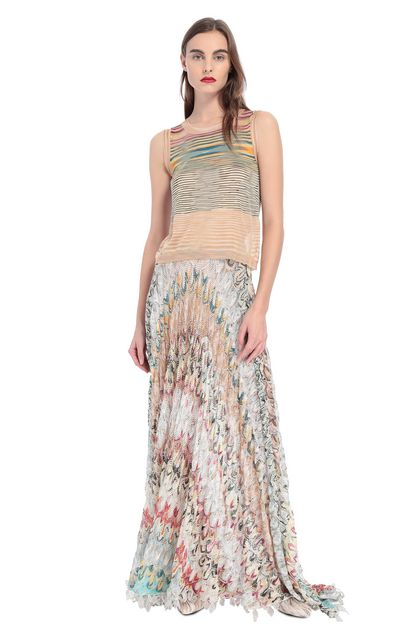 MISSONI Vest Sand Woman - Back