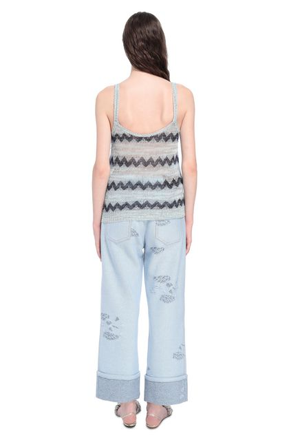 MISSONI Top Grey Woman - Front