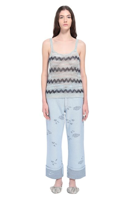MISSONI Top Grey Woman - Back