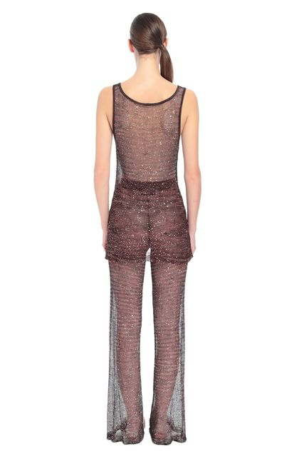 MISSONI Vest Dark brown Woman - Front
