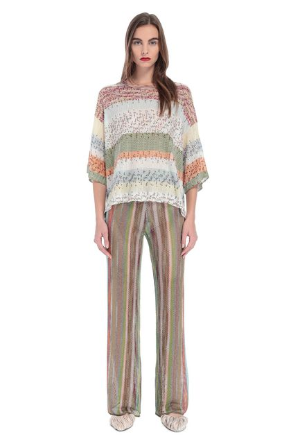 MISSONI Blouse Green Woman - Back
