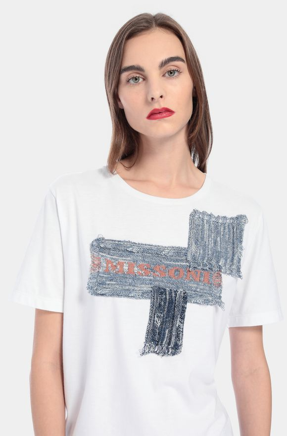 MISSONI T-Shirt Damen, Detail