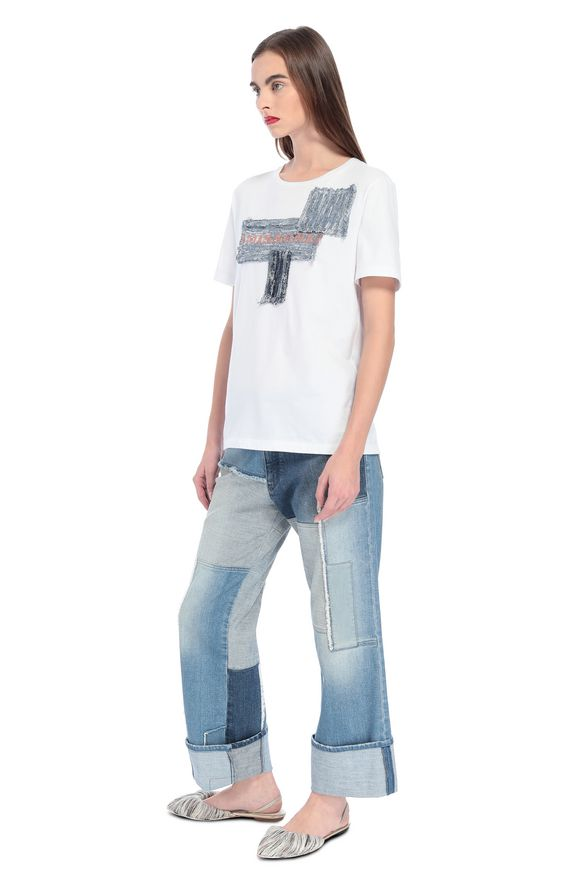 MISSONI T-shirt Woman, Side view