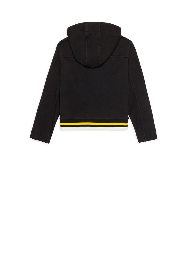 Marni Color block full zipper sweatshirt Man