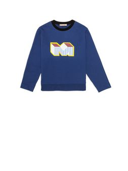 Marni Cotton sweatshirt with print Man