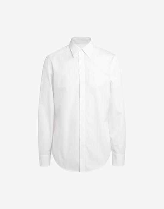 MAISON MARGIELA Classic poplin shirt Long sleeve shirt [*** pickupInStoreShippingNotGuaranteed_info ***] f