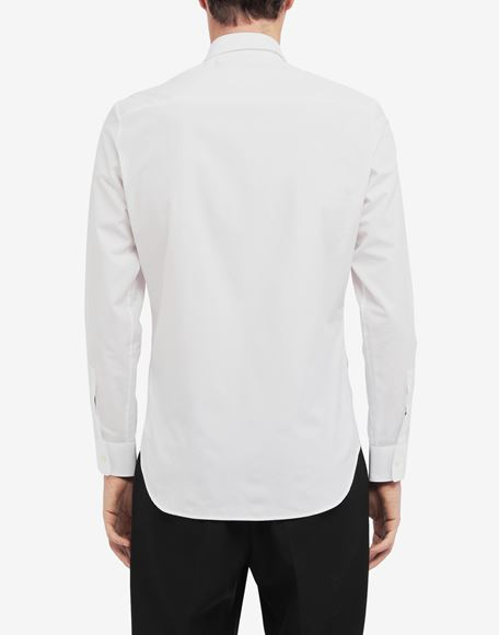 MAISON MARGIELA Classic poplin shirt Long sleeve shirt Man e