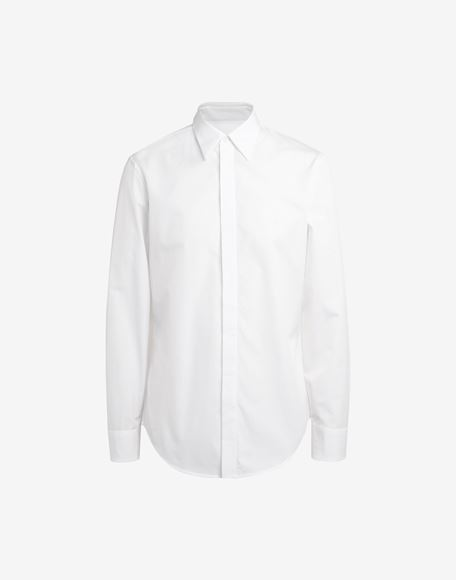 MAISON MARGIELA Classic poplin shirt Long sleeve shirt Man f
