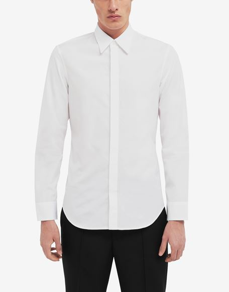 MAISON MARGIELA Classic poplin shirt Long sleeve shirt Man r