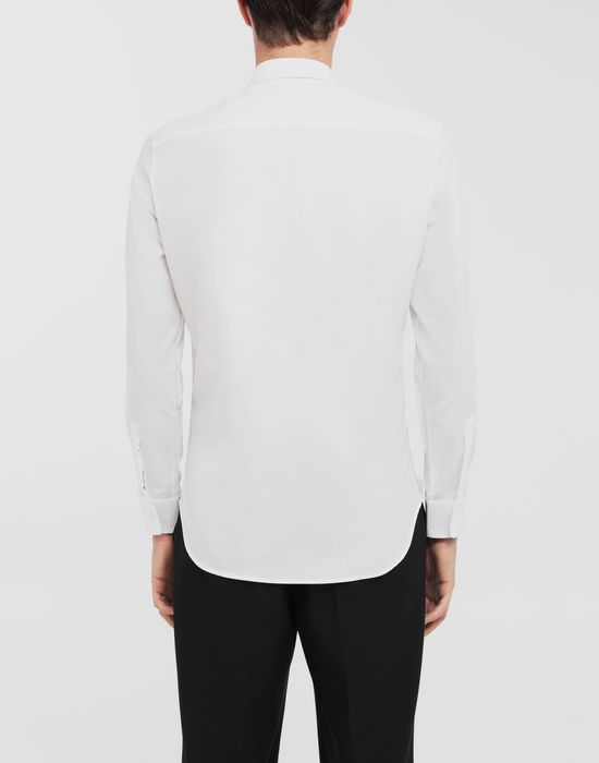 MAISON MARGIELA Patched pocket poplin shirt Long sleeve shirt [*** pickupInStoreShippingNotGuaranteed_info ***] e