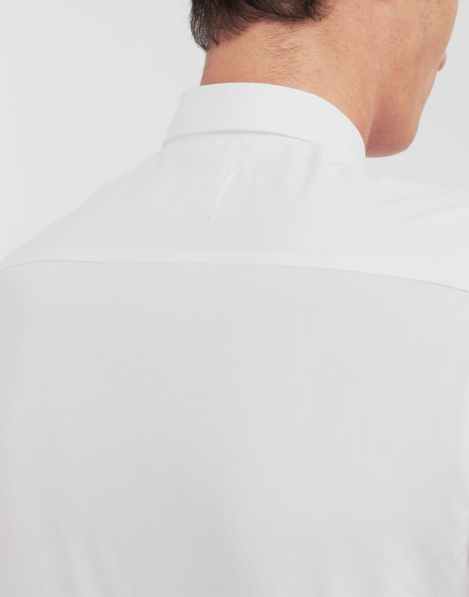 MAISON MARGIELA Patched pocket poplin shirt Long sleeve shirt Man b