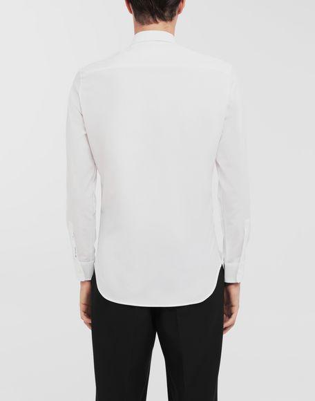 MAISON MARGIELA Patched pocket poplin shirt Long sleeve shirt Man e