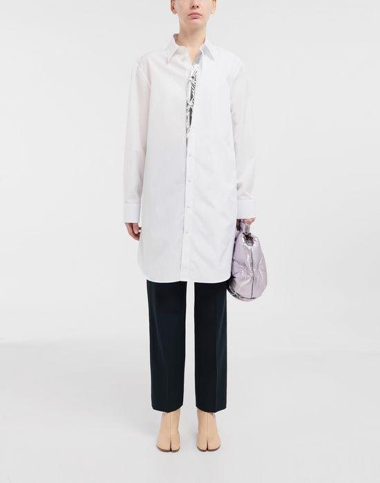 MAISON MARGIELA Oversized cotton-poplin shirt Long sleeve shirt [*** pickupInStoreShipping_info ***] d