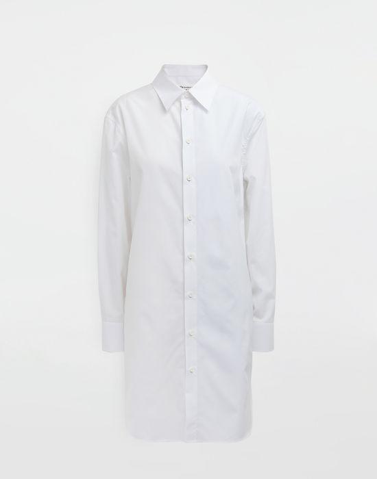 MAISON MARGIELA Oversized cotton-poplin shirt Long sleeve shirt [*** pickupInStoreShipping_info ***] f