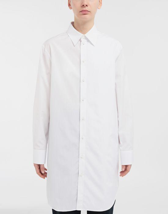 MAISON MARGIELA Oversized cotton-poplin shirt Long sleeve shirt [*** pickupInStoreShipping_info ***] r