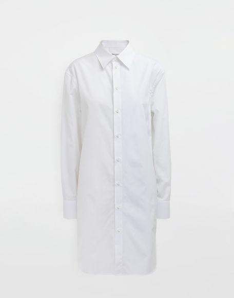 MAISON MARGIELA Oversized cotton-poplin shirt Long sleeve shirt Woman f