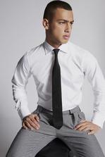 DSQUARED2 Cotton Poplin Slim Fit Classic Shirt Shirt Man