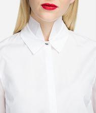 KARL LAGERFELD Poplin and Silk Organza Shirt 9_f