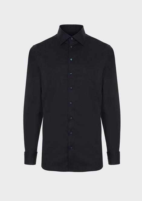 Camicia Luxury in esclusivo twill di cotone