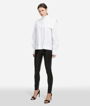 KARL LAGERFELD KARL GEOMETRIC COLLAR SHIRT